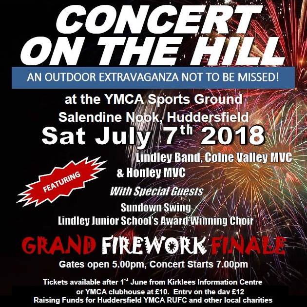 Concert on the hill 2018 poster updated