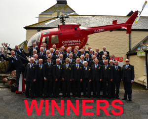 Cornwall helicopter - winners