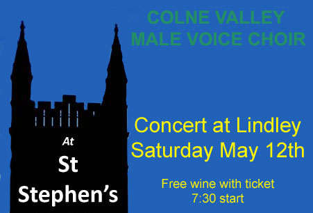 Poster st stephens- May 12th concert