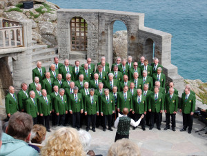 CVMVC at Cliffside Minack Theatre May 2007